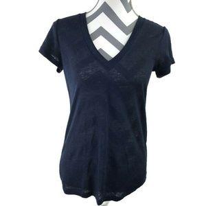 J Crew 100% Linen Light T Shirt